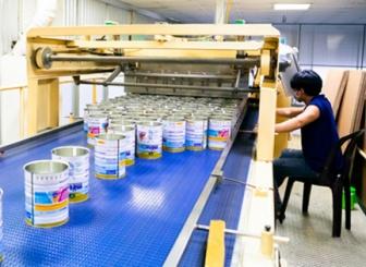 Dây chuyền sản xuất lon sơn
